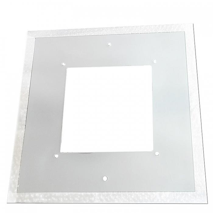 Trio Ersatzglas 92572-38 für Deckenleuchte PYRAMID 628611806 Lampenglas Scheibe satiniert, klar 38x38cm 4017807252941 4017807245844
