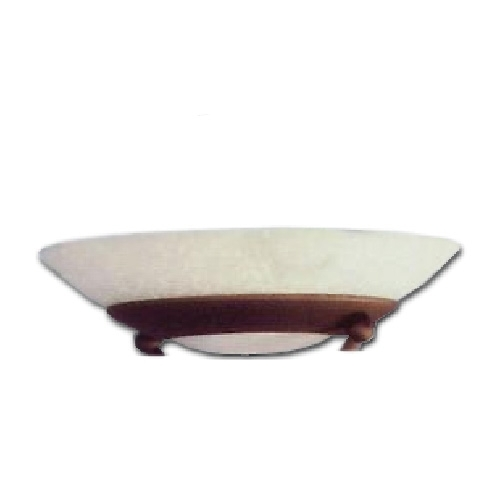 Ersatzglas 9356-24 Trio Fluterglas, Schale für Stehleuchte 4344021-24 CASCO 4017807053364