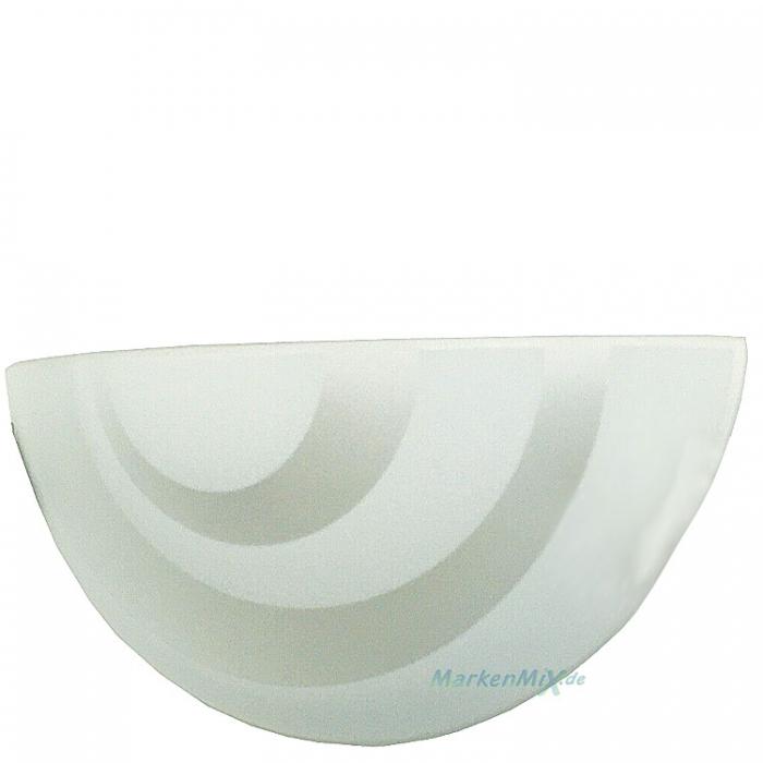 Sorpetaler Leuchten SLH Goller Ersatzglas sanitiert / weiß Glasscheibe für Wandleuchte Lisa Glasschirm zu 34550 SLH Goller GmbH Ersatzlampenschirm Ersatzlampenglas 4021273028603