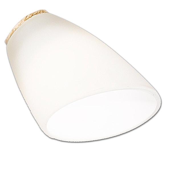 Ersatzglas 92686 Lampenglas für Trio Deckenleuchte REPOSA 622811527, 622811528, 4017807262391 Parachute 622412807, 4017807262384