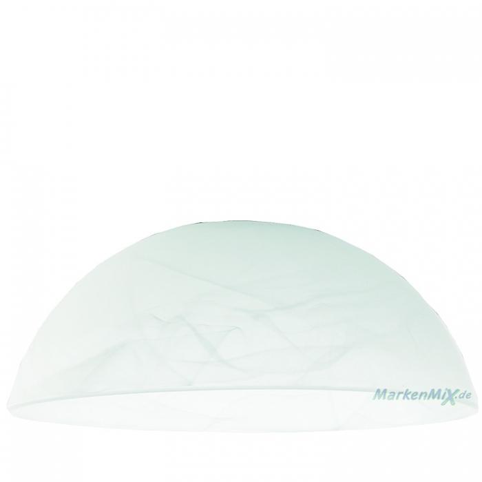 Fischer Leuchten Glas 10960 alabaster Ø 20cm zu M6 Licht Medium Modular für 14353 16152 43151 33741