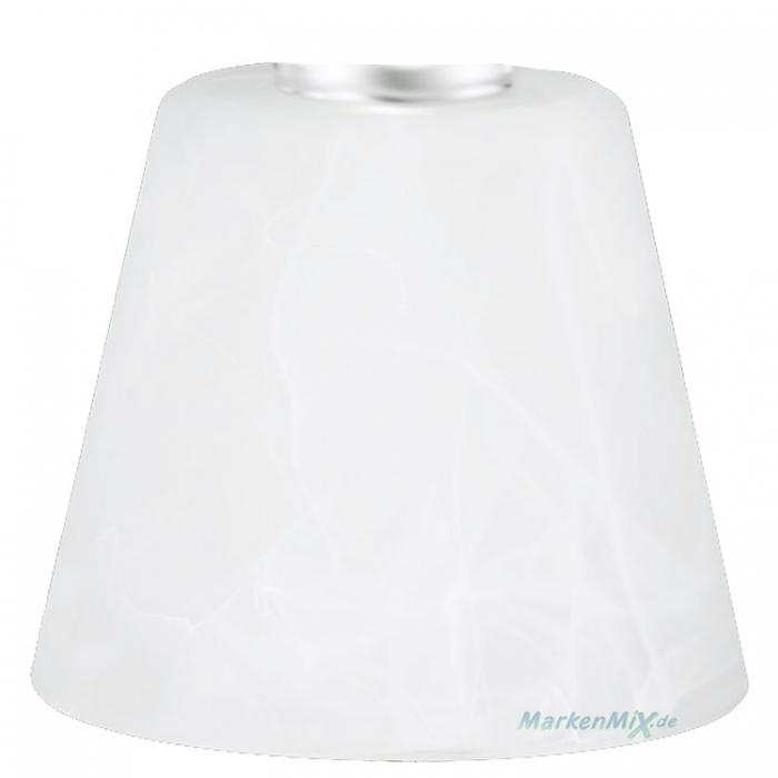 Reality Ersatzglas alabasterfarbig für Tischleuchte Emmy EMMY Glasschirm zu Leuchte R52541907 R52541908 Lampenglas Ersatzschirm
