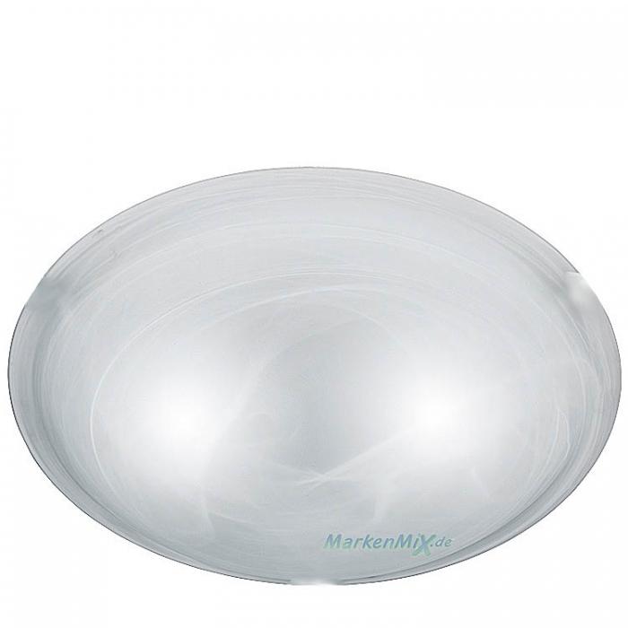 Trio Ersatzglas alabaster Ø 30cm Glasschirm für Deckenleuchte Adrian zu 6105011-01 Lampenglas 600501104 Ersatzschirm 600501107 Lampenschirm 4017807056815  Glashaube 4017807053968 Abdeckglas  Trio-Lighting Arnsberg