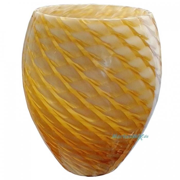Trio Ersatzglas gemustert amber für Deckenleuchte 6378051-18 637805118  Pendelleuchte 3778041-18 Glas 377804118 Wandleuche 2678221-18 Glasschirm 267822118 Tischleuchte  5478021-18  Lampenglas 547802118