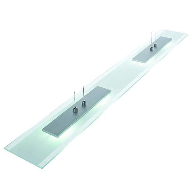 Ersatzglas Trio 92208 Lampenglas für LED SQUARE Pendelleuchte 321210402