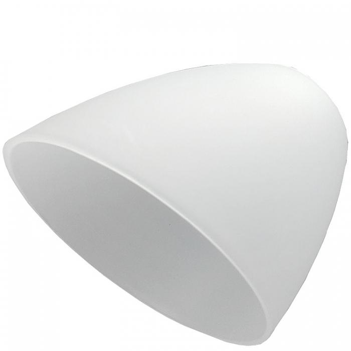 Reality Kunststoffschirm Ersatzglas für Lesearm zu Deckenfluter Erzwo R4393-87 satiniert Ersatzlampenschirm Ersatzlampenglas Kunststoffschirm 4017807080537