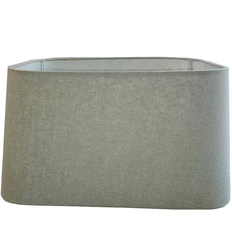 light living lampenschirm rechteckig 40 33 21 cm almeria. Black Bedroom Furniture Sets. Home Design Ideas